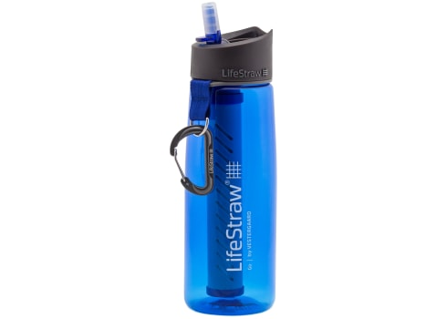 LifeStraw Go Water Filter Bottle with 2-Stage Integrated Filter Straw