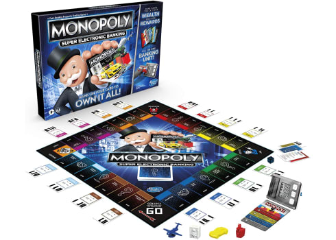 Monopoly Super Electronic Banking Board Game, Electronic Banking Unit