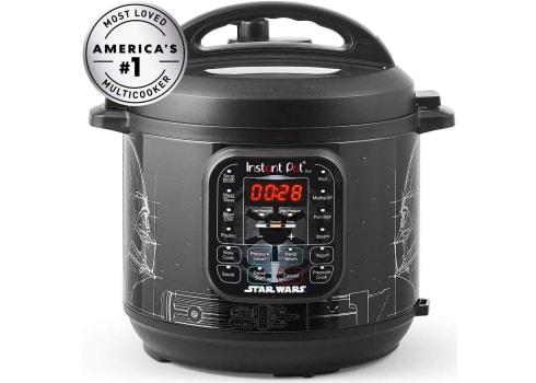 Instant Pot Star Wars Darth Vader Duo 6-Qt. Pressure Cooker