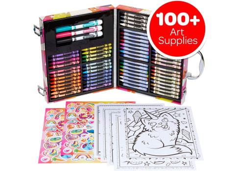 100-pc Crayola Mini Art Set with UniCreatures