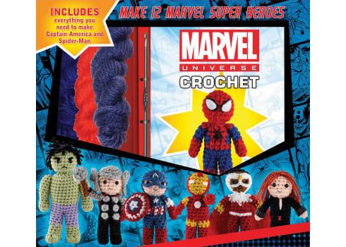 Star Wars or Marvel Characte Crochet Kits