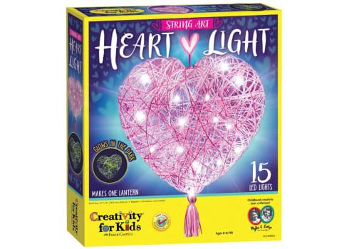 Creativity for Kids String Art Heart Light
