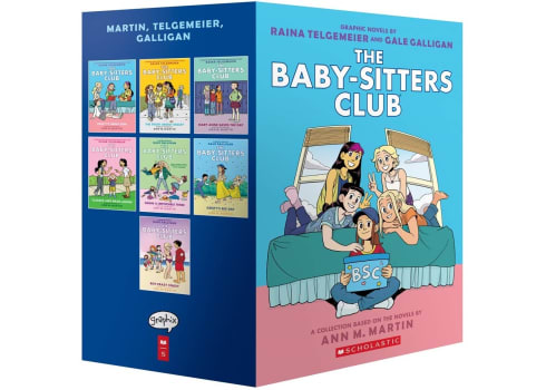 The Baby-Sitters Club Graphic Novels 1-7