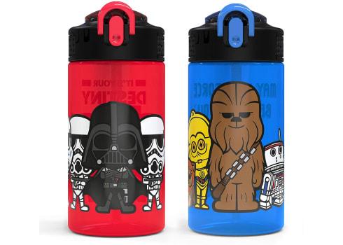 2-ct Zak Designs Star Wars Kids Water Bottles