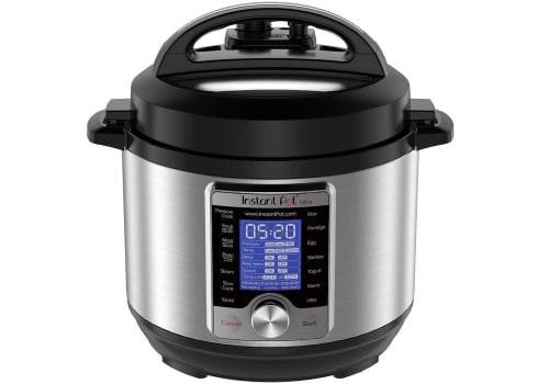 Instant Pot Ultra Mini 3-qt Pressure Cooker