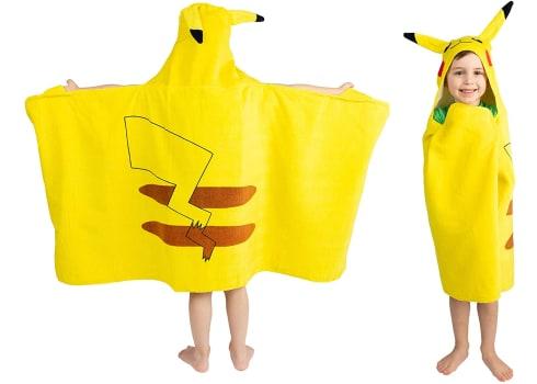Pokemon Pikachu Hooded Towel Wrap