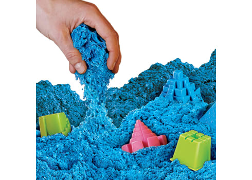 12lbs National Geographic Play Sand with Castle Molds