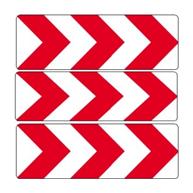 Richtungstafeln | Kurvensicherung