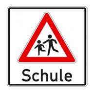 Schulwegschilder