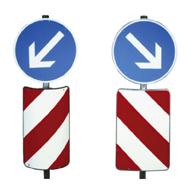 Verkehrsleitsäulen