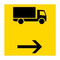 Vorwegweiser | Umleitungswegweiser