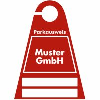 Parkausweis für Firmen-Parkplätze