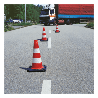 Verkehrleitkegel REFLEX - BASt geprüft