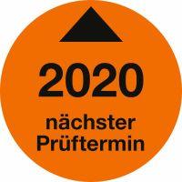 Prüfplaketten - Nächster Prüftermin 2020