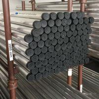 Rohrpfosten aus Stahl mit Rohrkappe