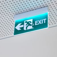 EXIT links nach ISO 16069