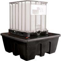 Auffangwanne aus PE für 1000-Liter-Behälter