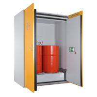 Sicherheits-Fass-Schrank für stehende Fässer - storeLAB®