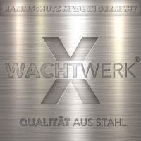 Rammschutzpoller einzeln WACHTWERK X® - Modulsystem ZWEI LOGO