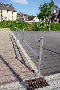 Verkehrsschutzgeländer-System, Ø 60 mm