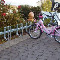 Fahrradständer / Reihenparker mit 6 Plätzen