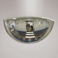 Drei-Wege-Spiegel PANORAMA 180 mit Rahmen - Überprüfung von 3 Richtungen