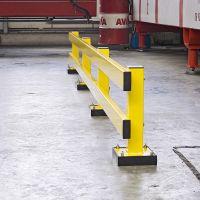 Federelement für Rammschutzgeländer WACHTWERK X® - Modulsystem ZWEI