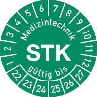Prüfplaketten - Medizintechnik STK gültig bis ...