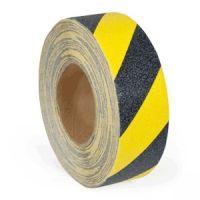 Antirutschbelag VERFORMBAR gelb-schwarz auf Rolle, selbstklebend