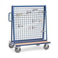Werkstückwagen mit zwei Gitterwänden  - Tragkraft 500 kg