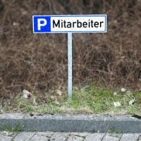 Stahlspieß für Parkplatzreservierer - zum Einschlagen