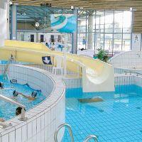Überwachungsspiegel für Schwimmbäder (Innenbereich)