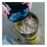 Rammschutzpoller WACHTWERK X® XXL aus Stahl mit Sand befüllt
