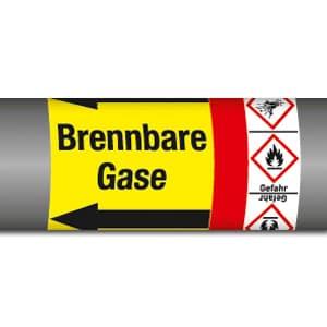 Gruppe 4 - Brennbare Gase mit Gefahrstoffsymbol (GHS)