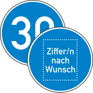 VZ 275 Vorgeschriebene Mindestgeschwindigkeit