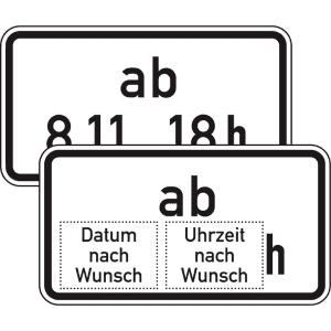 VZ 1040-34 Beschränkung ab einem bestimmten Zeitpunkt
