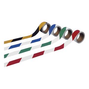 Warnmarkierungsband, verschiedene Ausführungen - Anwendungspaket, Rolle