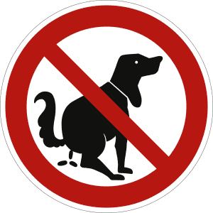 Hier kein Hundeklo