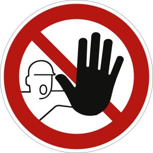 Zutritt für Unbefugte verboten nach ASR A 1.3 (2013) (D-P 006)