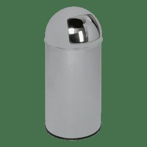 Abfallsammler mit Einwurfklappe - Inhalt 50 Liter