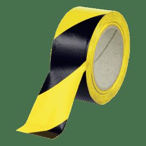 Warnmarkierung / Bodenmarkierungsband aus PVC-Folie, linksweisend - Rolle