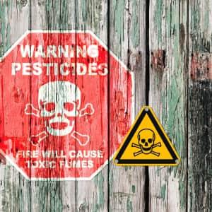 Warnschild Giftig Lebensgefahr ISO 7010