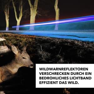 Lichtband Wildwarner / Wildwarnreflektor