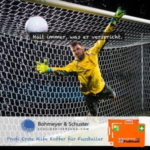 Erste-Hilfe-Koffer-Fussball Keeper Torwart
