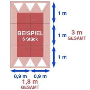 Fahrbahnschwelle Berliner Kissen EU GAMMA 30 km/h - Tragkraft 40 t, bei einer Achslast von 15 t