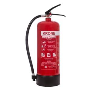 Krone ABC-Pulver-Dauerdruck-Feuerlöscher, 1 kg / 6 kg