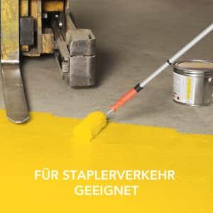 Hallenmarkierfarbe PROline paint für Staplerverkehr geeignet