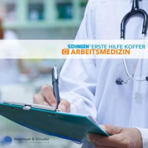 Medizinischer Notfallkoffer Arbeitsmedizin - Söhngen®
