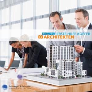 Erste Hilfe Koffer Architekt DIN 13157 / ASR A4.3 - Söhngen® DIREKT