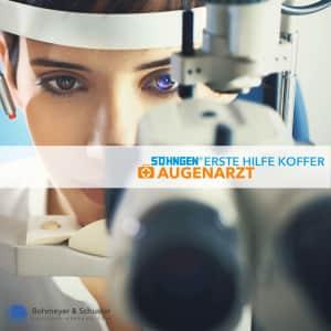Medizinischer Notfallkoffer Augenarzt - Söhngen®